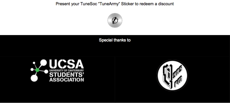 TUNESOC LOYALTY GUIDE MEMBERSHIP DISCOUNTS SPRING SUMMER 2017 SUMMER AUTUMN 2018 Special thanks